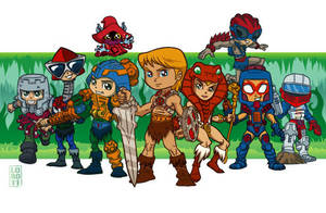 He-Man's Gang by lordmesa