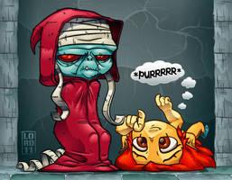 Lil Mumm-Ra Vectorized by lordmesa