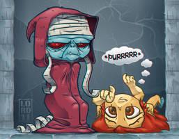 Lil Mumm-Ra 3D by lordmesa