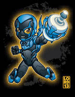 Young Justice Invasion- Blue Beetle by lordmesa