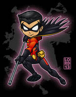 Young Justice Invasion- Robin by lordmesa