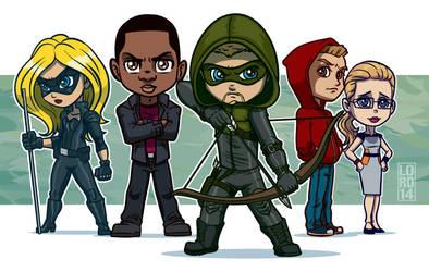 Arrow Gang!! by lordmesa