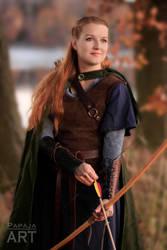 Wood elf warrior by papaja94