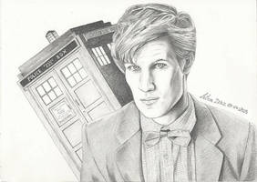 Doctor Who by StarGazerSquirrel