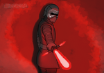 Kylo Ren (Star Wars) by Ertrandmue