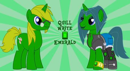 Quillwrite Aka Emerald by Quillwrite7x