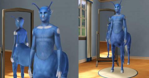 Sims3 Animorphs Andalite by Popcornstar45