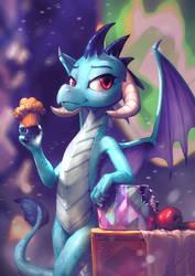 Dragon's Ember Threat by AssasinMonkey