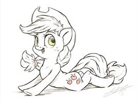 Apple Lay by AssasinMonkey