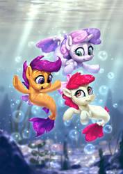 Underwater Surf by AssasinMonkey