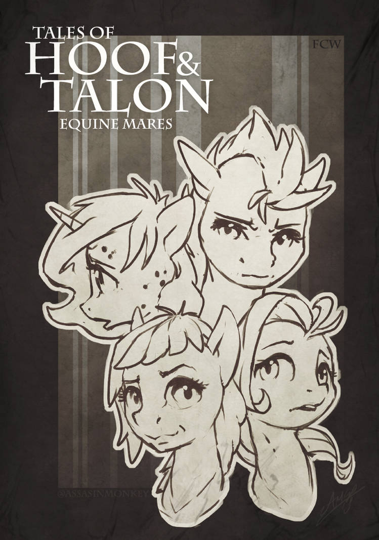 Mares of Hoof and Talon (Mockup cover) by AssasinMonkey