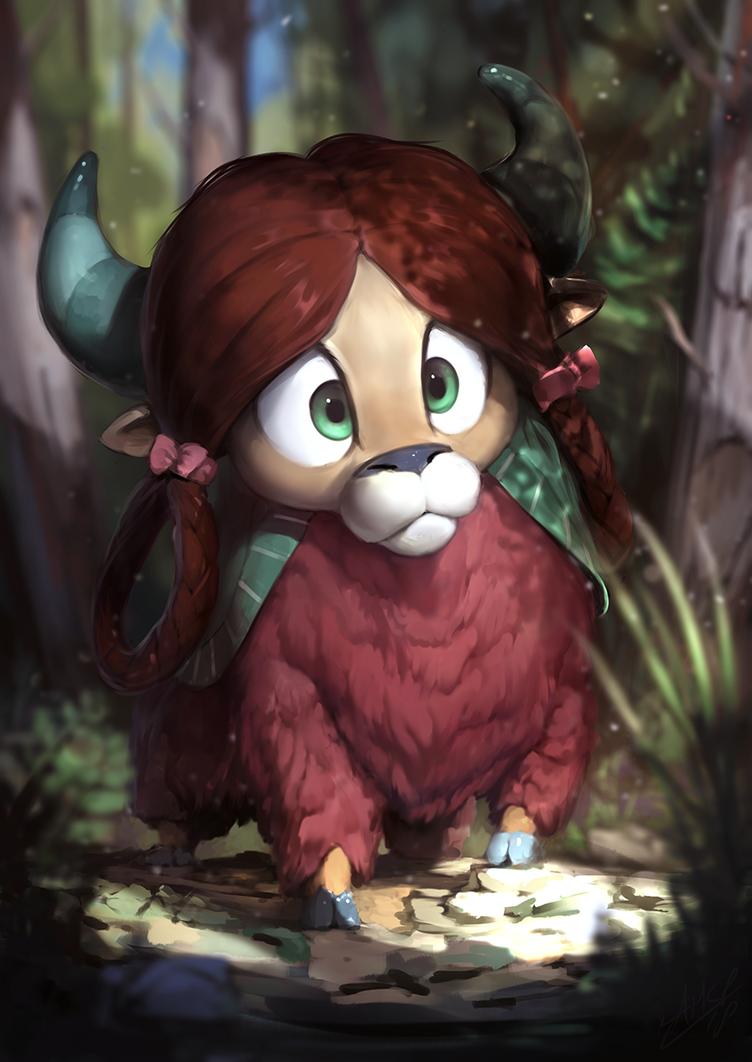 Forest Yona by AssasinMonkey