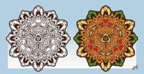 Mandalapples by AssasinMonkey