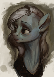 Classical Mare Sketch by AssasinMonkey