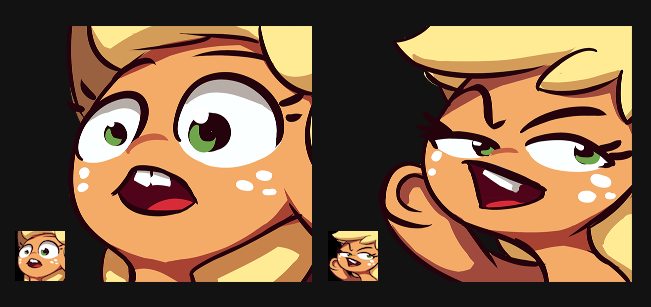 Oi Eh Applejack Emotes by AssasinMonkey