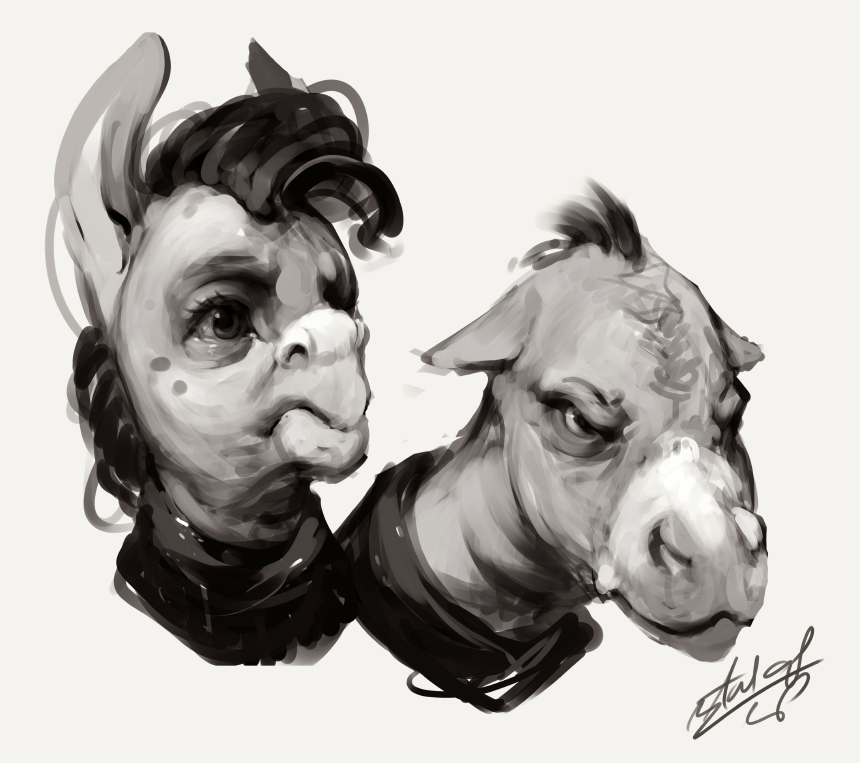 Dem Donkeys Do by AssasinMonkey