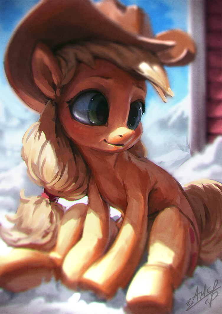 Cold Winter Seating by AssasinMonkey