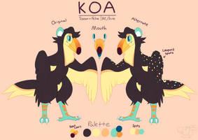 Koa Reference by MortalKAkatsuki96