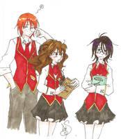 GwL: The Golden Trio by Divine-Nataku