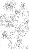 GwL: Harri and the Weasleys by Divine-Nataku
