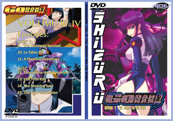 Custom Godannar DVD case 2 by jilliefoo