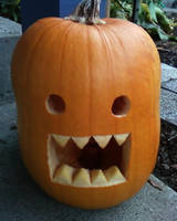 Domo Pumpkin by LordoftheFuzzys