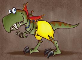 Daddy T-Rex by Altermentality