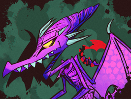 Rad Ridley [Metroid] by Altermentality