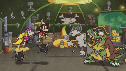 Crocodile Cacophony [Cuphead + DKC2] by Altermentality