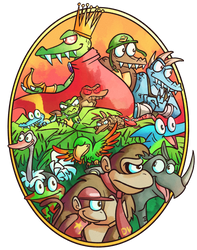 Donkey Kong Country by Altermentality