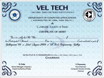 Colloquium '08 Certificate 1 by sahtel08