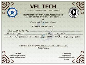 Colloquium '08 Certificate 2 by sahtel08