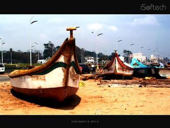 Chennai Marina Beach after Thane Attack by sahtel08