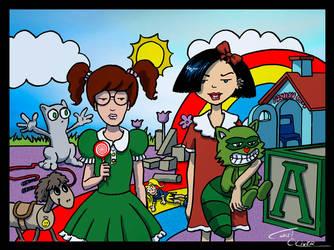 Daria and Jane childish by Christo-LHiver