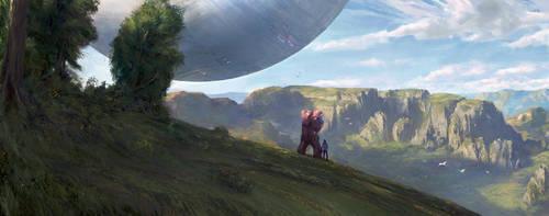Cliffs by babzz
