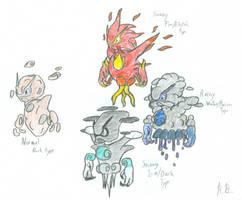 Castform prehistoric evolution by Jetavian