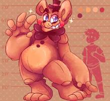 Toy Freddy by nightmaw