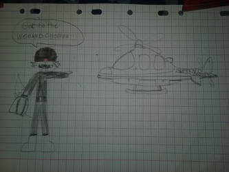 The weekend chopper  by YukusaiX