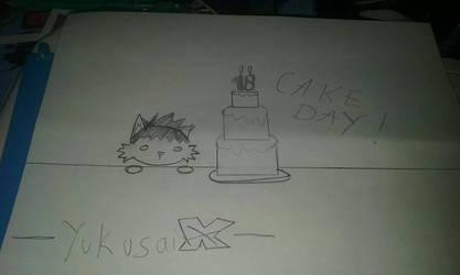 Cake day by YukusaiX