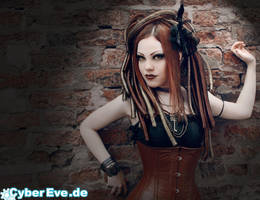 Steampunk-Cyber (For Cyber-Eve) by THETERRORCAT