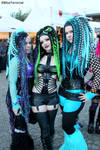 With Ivy and Lana @ Amphi Festival by THETERRORCAT