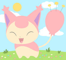 Skitty by drill-tail