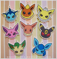 Eevee's Charm Set by drill-tail