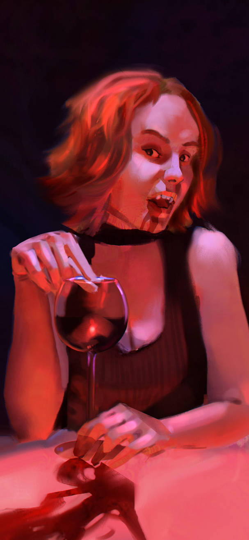 Vampire Lady by HoodboySlim