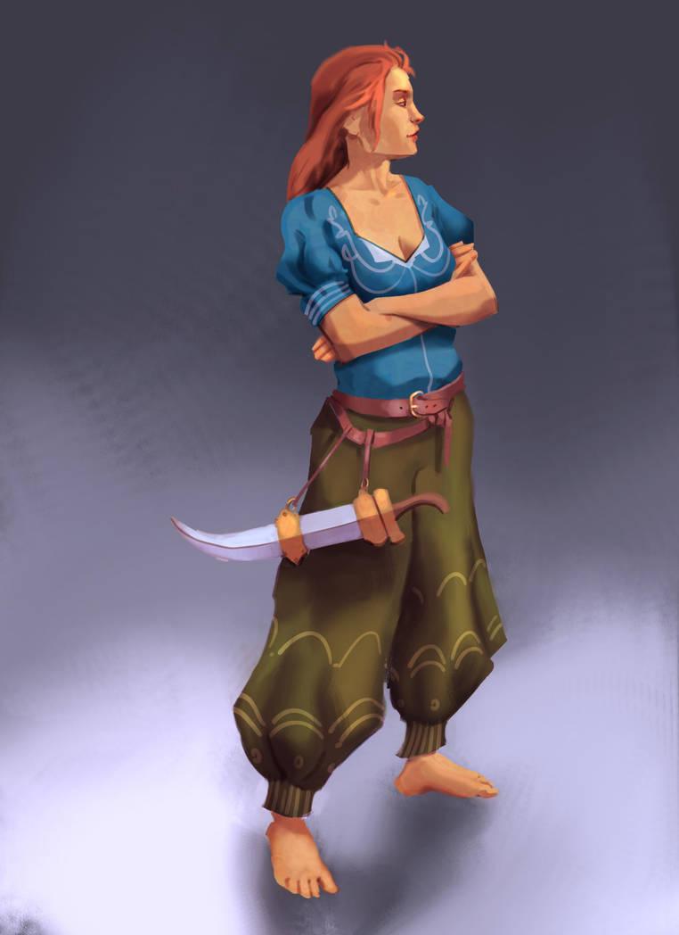 Piratelady by HoodboySlim