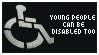 STAMPS: Disabled young people by neurotripsy
