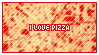 STAMP: I love pizza by neurotripsy