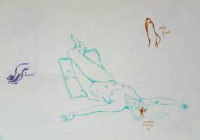 Figure Drawing #4 by LRHurtz
