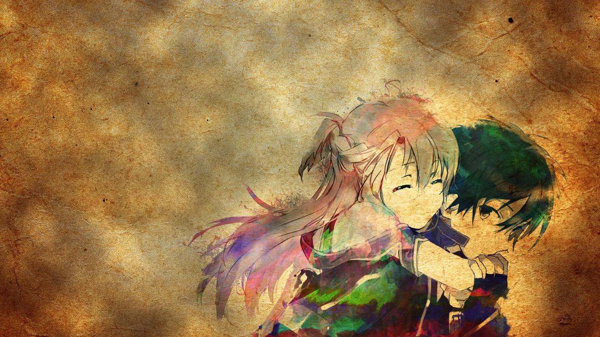 Sword Art Online Water Colour Wallpaper By Twinjoker On Deviantart