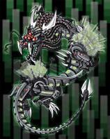 Sentinal Dragon by Tibby101